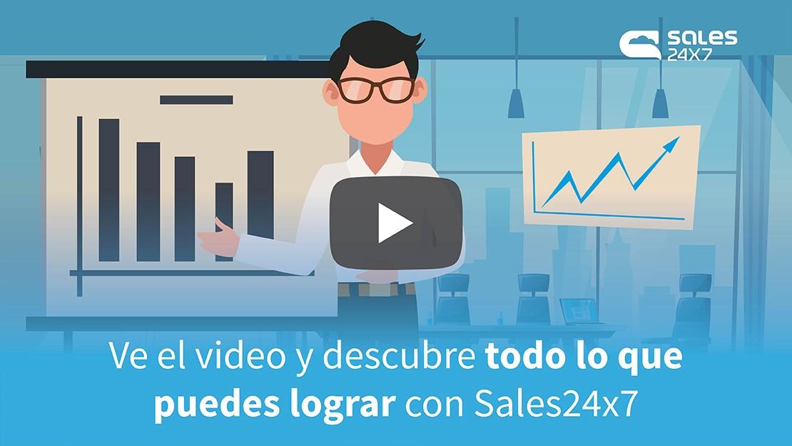 Sales24x7 video